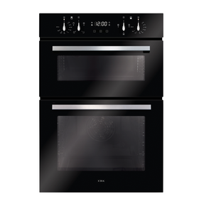 CDA DC941BL Black Built In Fully Programmable Double Electric Oven