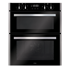 CDA DC741SS 60cm Stainless Steel Built Under Double Electric True Fan Oven