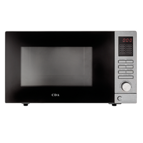 CDA VM201SS Stainless Steel 25L Freestanding 900W Digital LED Microwave Oven