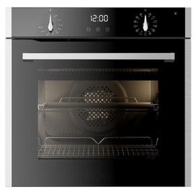 CDA SL500SS 60cm Stainless Steel Built-in 77L Single Electric Pyrolytic Oven