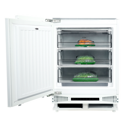 CDA FW284 White 60cm 95L White Integrated Under Counter Freezer A+ Energy Rating