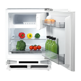 CDA FW254 60cm 95L White Integrated Under Counter Fridge And Ice Box A+ Rating