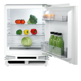 CDA FW224 60cm 135L White Integrated Under Counter Fridge A+ Energy Rating