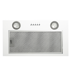 CDA CCA52WH White 50cm Under Canopy 3 Speed Cooker Hood Kitchen Extractor Fan