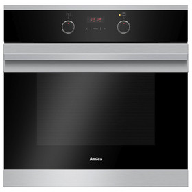 Amica ASC310SS Stainless Steel 60cm 5 Function 65L Single Electric Fan Oven