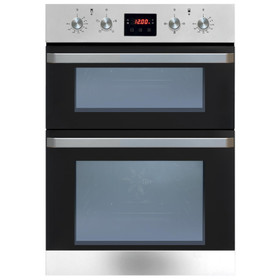 Matrix MD921SS Stainless Steel Built In Fully Programmable Double Electric Oven