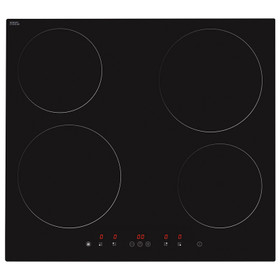 Matrix MHN101FR 60cm Black 4 Zone Touch Control Electric Induction Hob W/ Boost