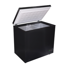 SIA CHF200B Black Freestanding 201L Chest Freezer With A+ Energy Rating