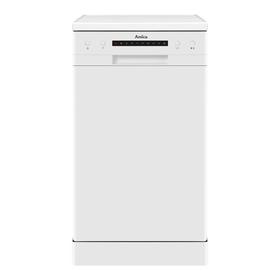 AMICA ADF410WH White 45cm Slimline Freestanding 5 Programme 9 Place Dishwasher