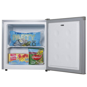 SIA TT02SV 39 Litre Silver Counter Table Top Mini Freezer With 4* Rating