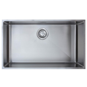 SIA Undermount/Inset Stainless Steel Kitchen Sink W730xD430 1.0 Bowl - OXL10SS