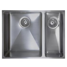 SIA Undermount/Inset RHD Stainless Steel Kitchen Sink 1.5 Bowl - ON15RHSS