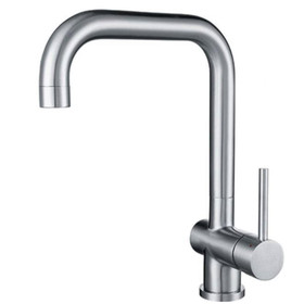 Franke Single Lever Kitchen Sink Mixer Tap Stainless Steel