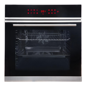 SIA BISO11SS 13 Function Touch Control 76L Single Electric Oven With LED Display