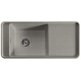 Franke Style 1.0 Bowl Reversible Fragranite Grey Silver Kitchen Sink & Waste Kit