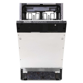Montpellier MDI505 45cm Slimline Integrated Dishwasher With 10 Place Settings
