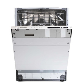 Montpellier MDI605 60cm Full-size Integrated Dishwasher With 12 Place Settings