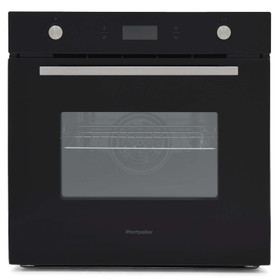 Montpellier SFO74B 8 Function 70L Single Electric Built-in Oven With LED Display