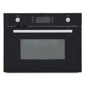 Montpellier MWBIC74B Black 44L Integrated Built-in Combination Microwave Oven