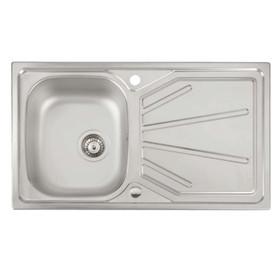 Montpellier Northway 1.0 Bowl Reversible Stainless Steel Kitchen Sink