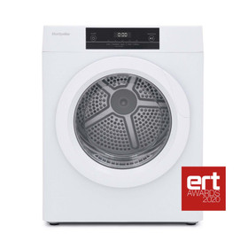 Montpellier MTD30P White 52cm Wide 3kg Compact Touch Control Tumble Dryer