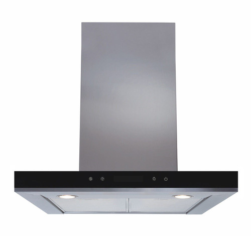 SIA LIN61SS 60cm Stainless Steel Linear Touch Control Cooker Hood Extractor Fan