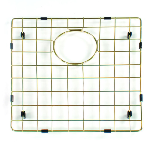 Reginox R3009 Gold Coloured Bottom Grid Accessory For MIAMI50x40 GOLD Sinks