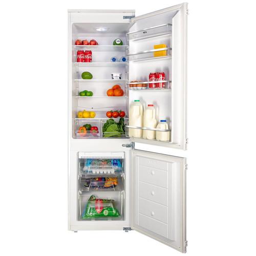 SIA RFF101 70/30 White Integrated Built In Frost Free Fridge Freezer