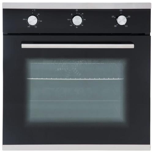 SIA SO101 60cm Black Built In Multi Function Electric Single True Fan Oven