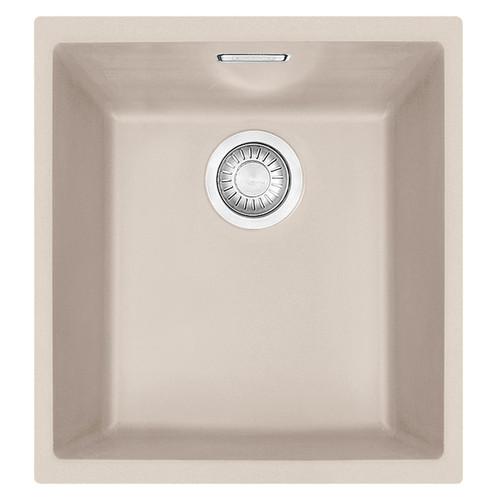 Franke SID 110-34 1.0 Bowl Coffee Tectonite Undermount Kitchen Sink & Waste Kit