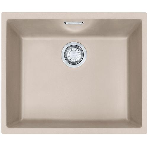 Franke SID 110-50 1.0 Bowl Coffee Tectonite Undermount Kitchen Sink & Waste Kit