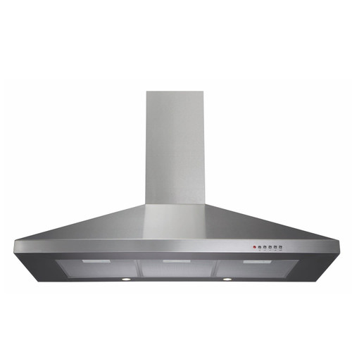 CDA ECH101SS 100cm Stainless Steel Chimney Cooker Hood Kitchen Extractor Fan