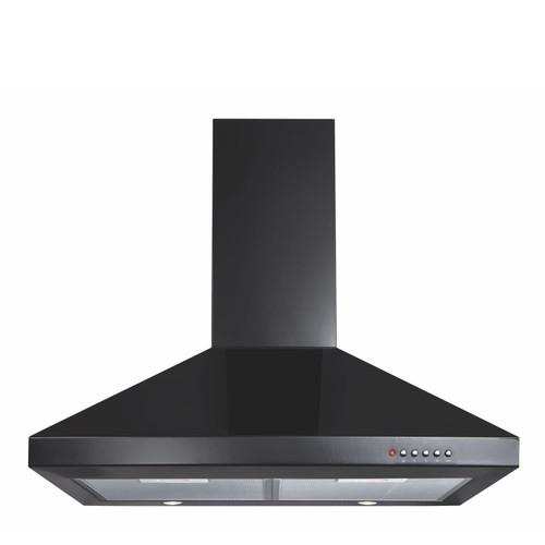 CDA ECH71BL 70cm Black 3 Speed Chimney Cooker Hood Kitchen Extractor Fan