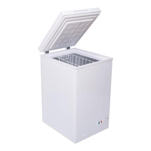 SIA CHF100W 48cm Freestanding Slimline Compact White Chest Freezer A+ Energy