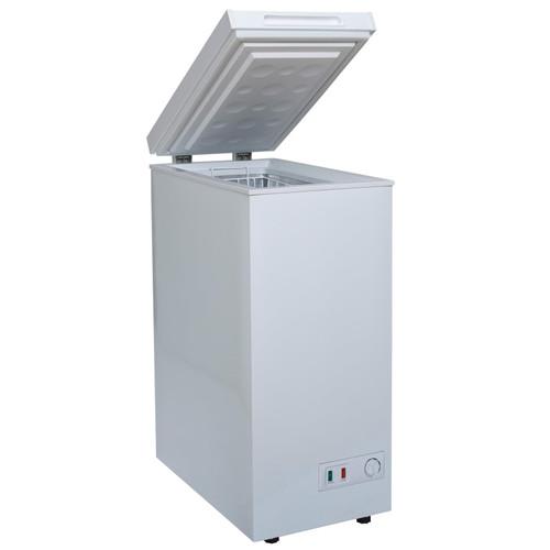 SIA CHF60W 36cm Freestanding Slimline Compact White 53L Chest Freezer A+ Energy