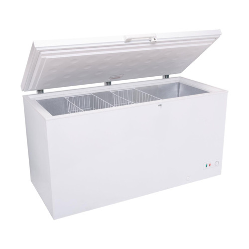 SIA CHF500W 154cm Freestanding 473L White Chest Freezer With A+ Energy Rating