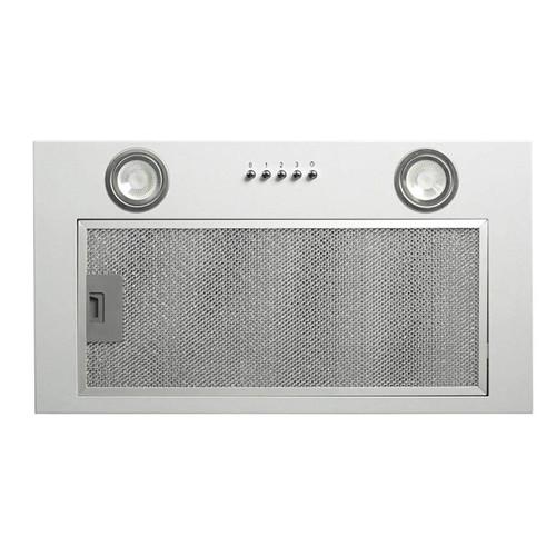 CDA CCA52SI Silver 50cm Under Canopy 3 Speed Cooker Hood Kitchen Extractor Fan