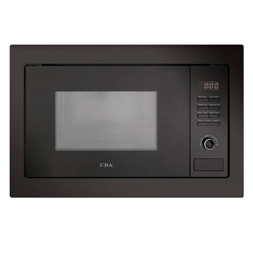 CDA VM231BL 25L Black 900W Integrated Combination Microwave Oven And Grill