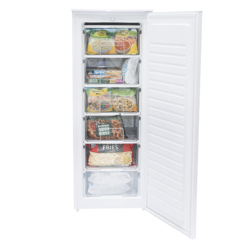 SIA FSF140WH 179L White Tall Free Standing Freezer, W55xH143cm, A+ Rated