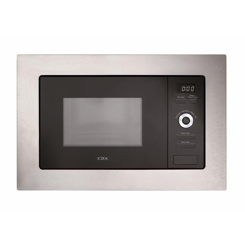 CDA VM551SS 17L 700W Slim Built-in Wall Unit Stainless Steel Microwave Oven