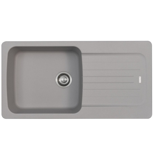 Franke Aveta 1.0 Bowl Stone Grey Tectonite Reversible Kitchen Sink And Waste Kit
