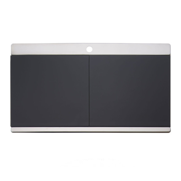Clearwater Glacier 1 Bowl LHD Stainless Steel Sink & Black Glass Chopping Boards