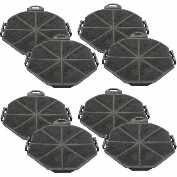4x SIA1 Carbon Re-circulation Filters For SIA Kitchen Cooker Hood Extractor Fans