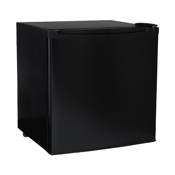 SIA TT01BL 47 Litre Black Counter Table Top Mini Drinks Fridge With Ice Box