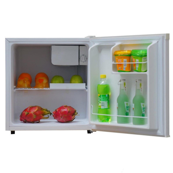 SIA TT01WH Table Top Mini Beer & Drinks Fridge With Ice Box In White   A+ Rated