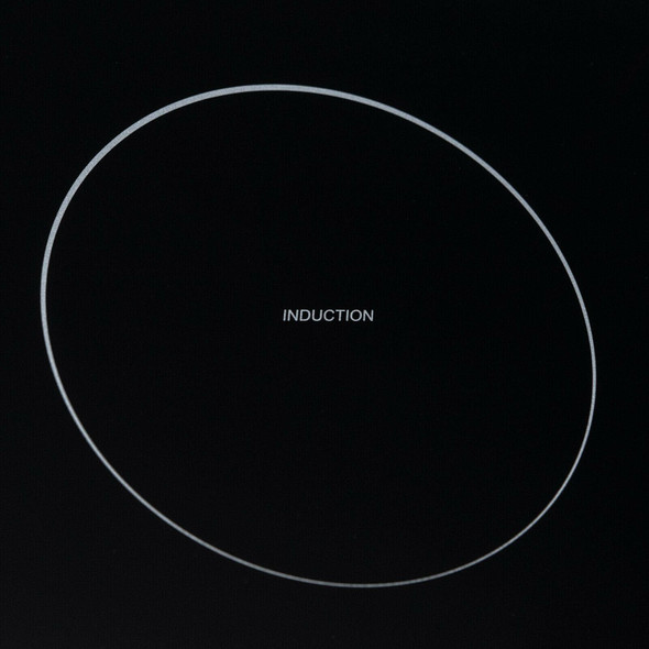 SIA 30cm Black Domino 2 Zone Electric Induction Hob & 60cm Integrated Extractor