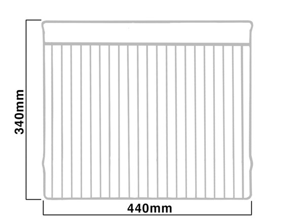 SIA Spare Oven Shelf To Fit SIA Double Ovens - DO101 DO102 R1 R2 R3 R4