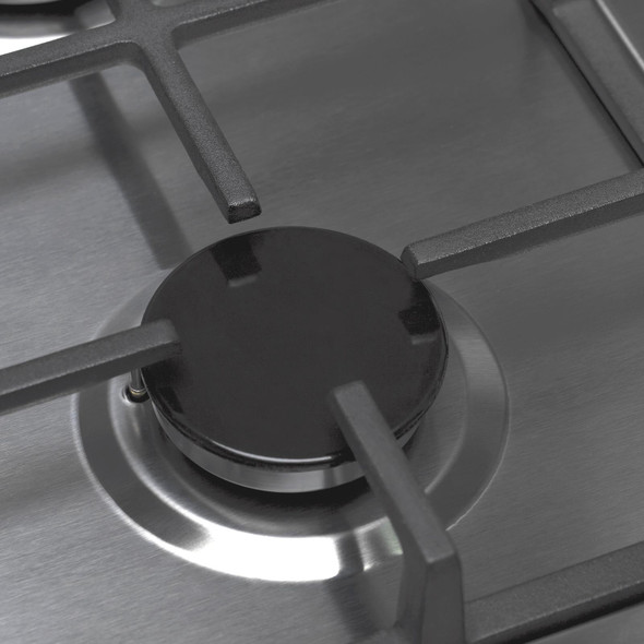 SIA SSG302SS 30cm Domino Gas Hob In Stainless Steel | LPG Kit & Cast Iron Stands
