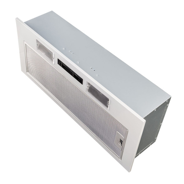 SIA 70cm Under Cupboard Canopy Built In Cooker Hood Extractor Fan + 1m Ducting