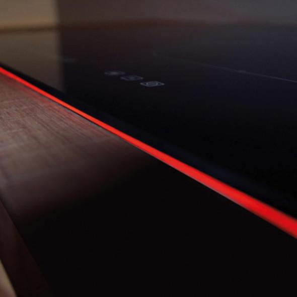CDA HN6841FR 60cm Black 4 Zone Flexi-Bridge Touch Control Electric Induction Hob